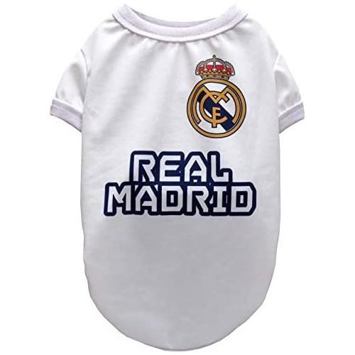 Maglietta per cani del Real Madrid, prodotto ufficiale