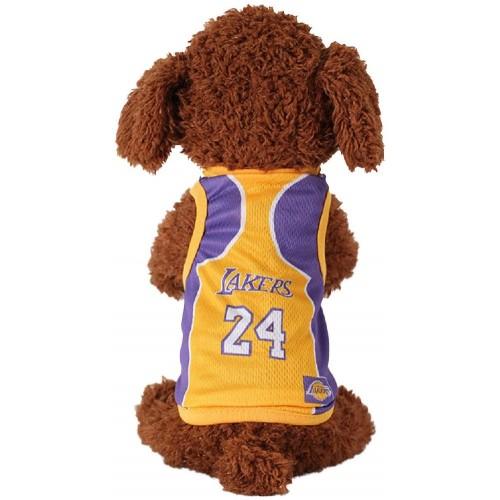 Maglietta per animali domestici dei Lakers, NBA basket