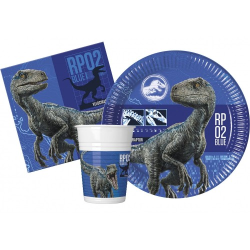 Kit 8 persone Jurassic World