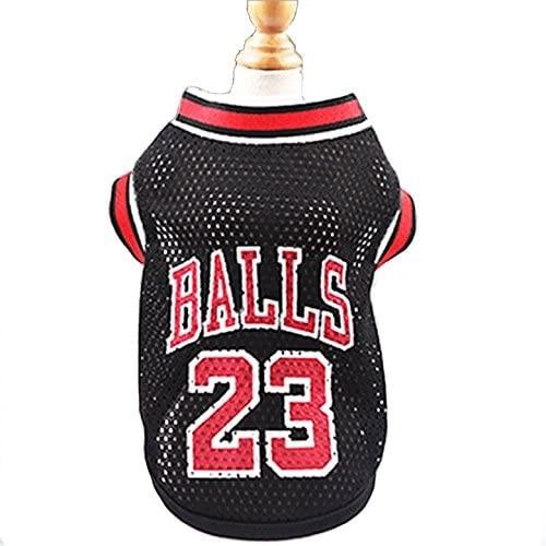 Maglietta per cani Basket NBA, con numero 23 sul dorso