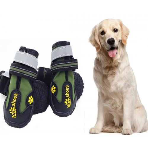 Stivali per cani, antiscivolo con catarifrangente, comode e calde