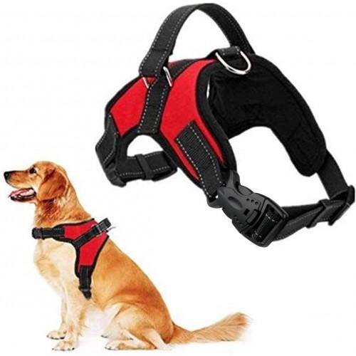 Pettorina per cani regolabile, sportiva e resistente, tutte le taglie