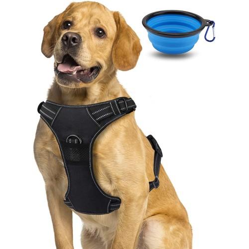 Pettorina regolabile per cani, taglia grande, modello sportivo