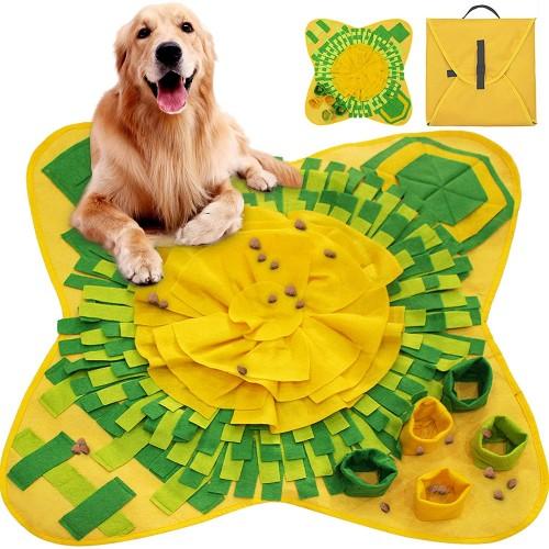 Tappetino gioco per cani, morbido, aderente, trasportabile