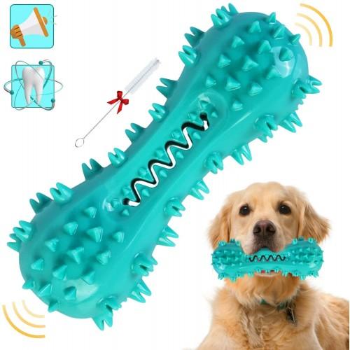 Gioco da masticare per cani, spazzolino in gomma, per pulizia denti
