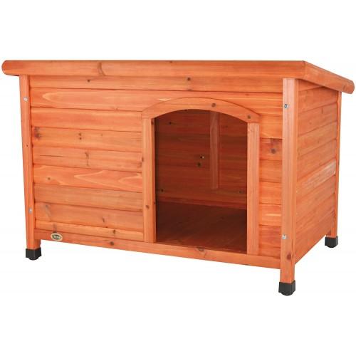 Cuccia per cani in legno da 85 × 58 × 60 cm, comoda e resistente