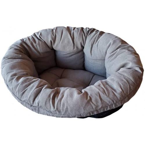Cuscino per cani imbottito in morbido corone, lettino per casa