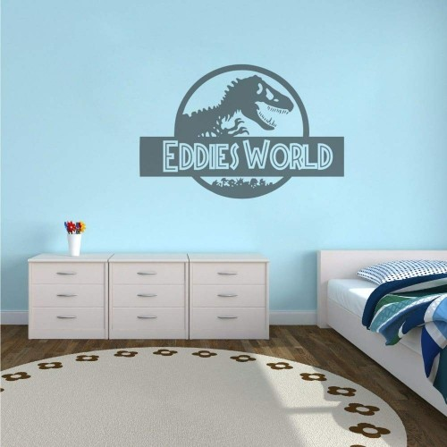 Adesivo murale, carta da parati Jurassic World