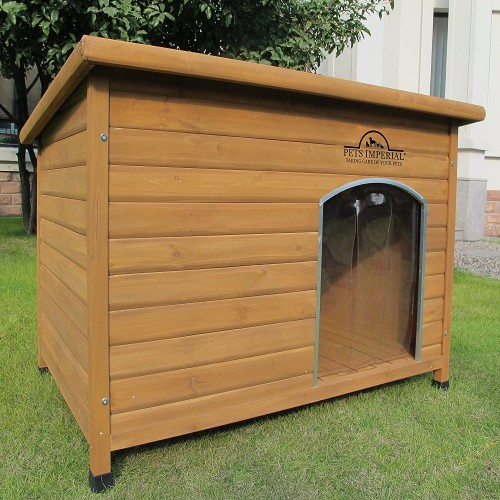 Cuccia per cani Norfolk Extra Large in legno, per cani grandi e medi
