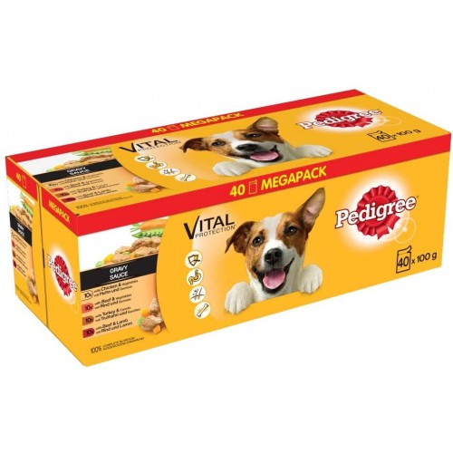 Cibo umido per cani Adulti, con Salsa - Pedigree - Vital