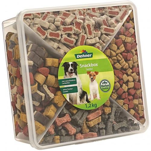 Confezione snack per cani, 4 mix di varietà, 1,2 kg