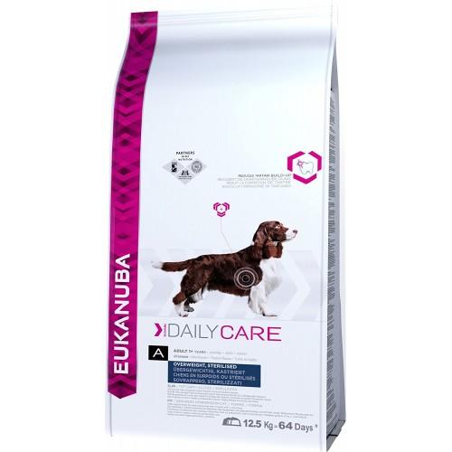 Cibo secco per cani in sovrappeso e sterilizzati, - Eukanuba, gusto pollo