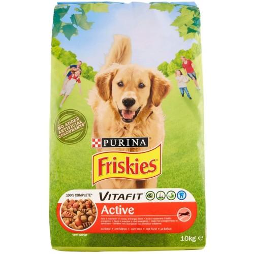 Crocchette per cane Vitafit Active con Manzo, 10 kg - Purina Friskies