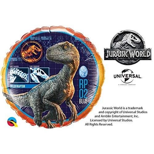Palloncino tondo di Jurassic World  da 46 cm