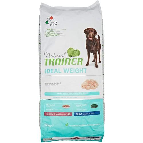 Crocchette per cani adulti, carne bianca, Natural Trainer