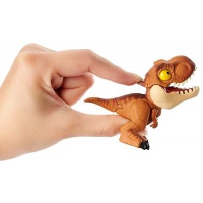 Jurassic World, Confenzione da 4 Baby Dino Mordi e Vai, Giocattolo per Bambini 4+ Anni, GKH02