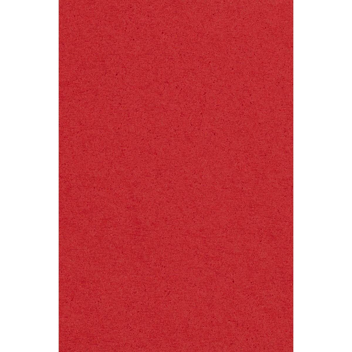 Tovaglia rossa di plastica, PVC, da 137 x 274cm, per feste