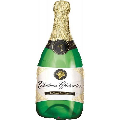 Palloncino Foil Bottiglia di Champagne da 91 cm, per feste