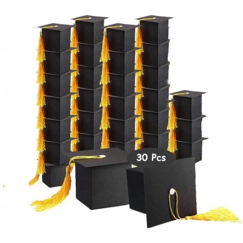 Set da 30 scatole Laurea, design cappello tocco