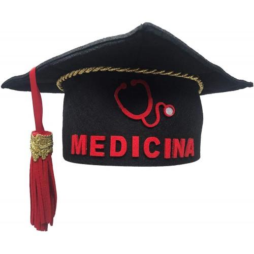 Tocco in Feltro per laurea Medicina