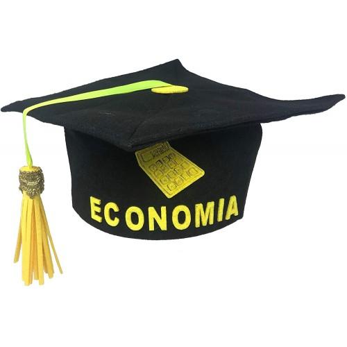 Tocco Laurea in Economia e Commercio, in feltro, taglia unica