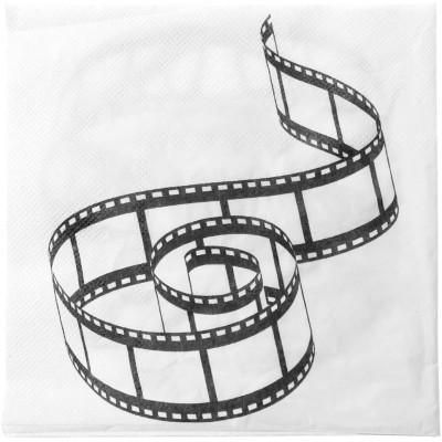 Set da 20 Tovaglioli carta tema Cinema, monouso, per feste