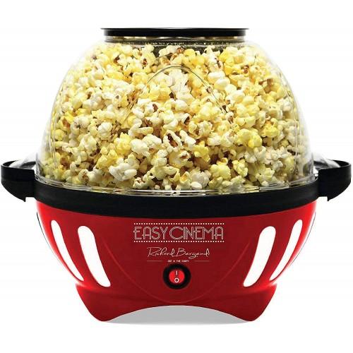 Macchina del Popcorn, con piastra in Teflon