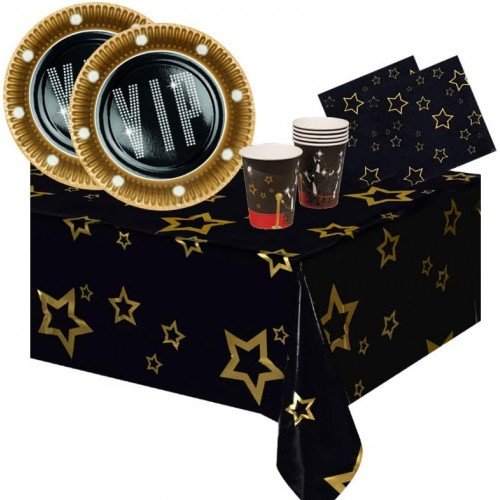 Kit per 12 persone VIP Party, coordinato tavola