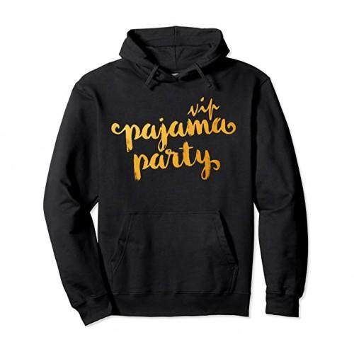 Felpa Pajama Party VIP Funny, con cappuccio, invernale