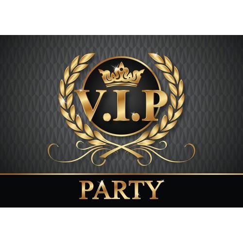 Set di 12 inviti VIP Card, cartoline invito per feste