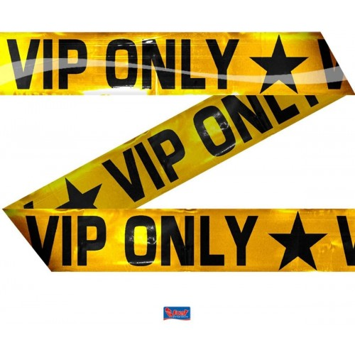 Striscione VIP Party da 15 m, accessorio per feste tema Cinema