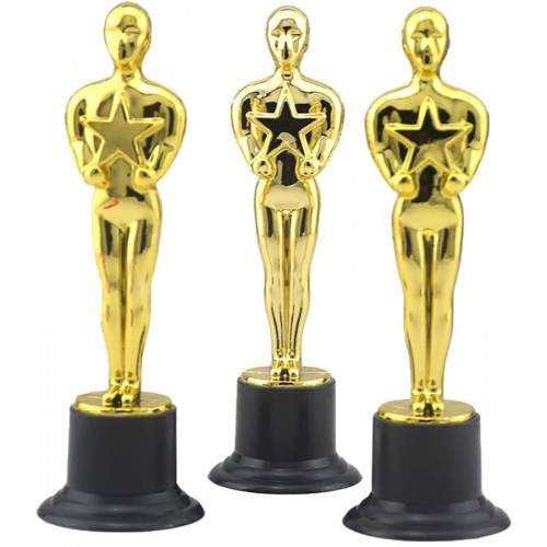 Set 12 statuette Premio Oscar Cinema Hollywood
