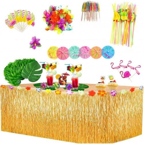 Kit da tavolo festa Hawaiana, 145 articoli