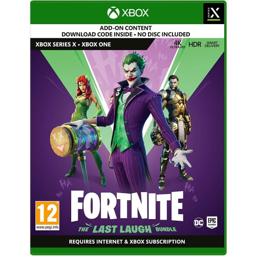 Videogioco Fortnite: The Last Laugh Bundle per Xbox One/Series X