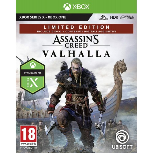 Assassins Creed Valhalla per Xbox One e serie X