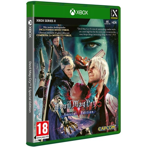 Devil May Cry 5 per Xbox Series X, Limited Edition