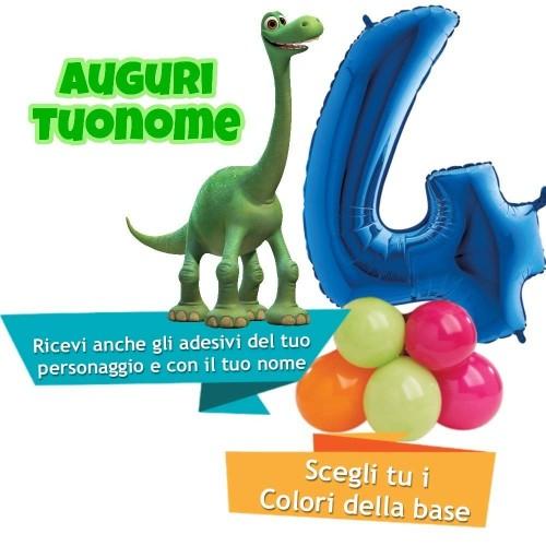 Composizione palloncini The Good Dinosaur