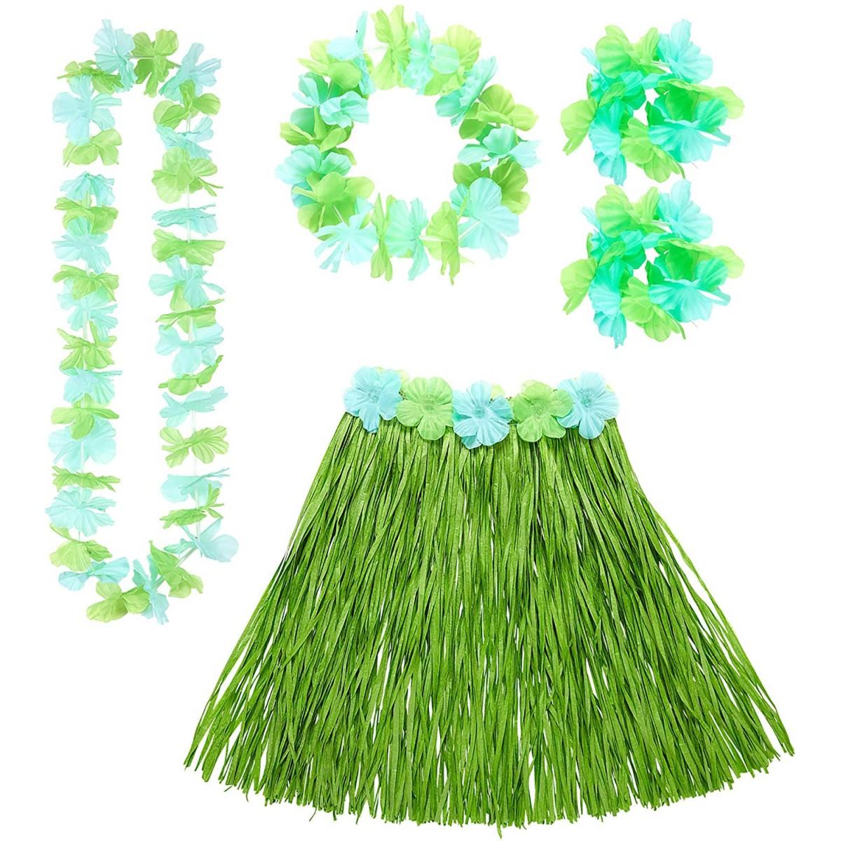 Set Hawaii Verde, abbigliamento e accessori