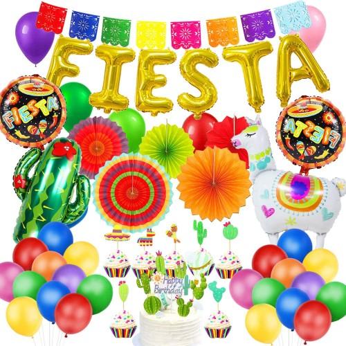 Set decorazioni e palloncini festa Hawaiana, 30 articoli