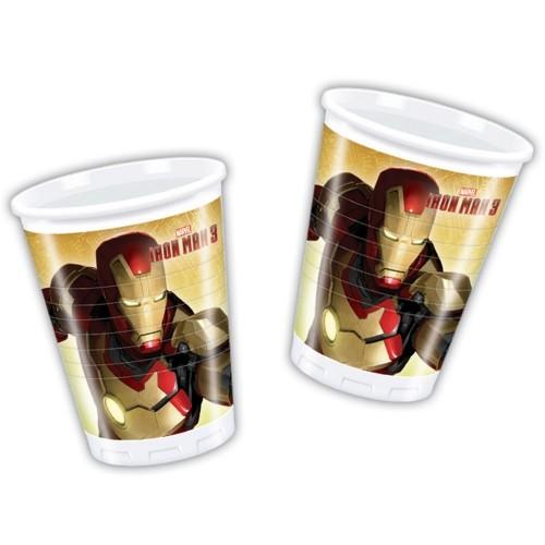 Bicchieri Iron Man 3