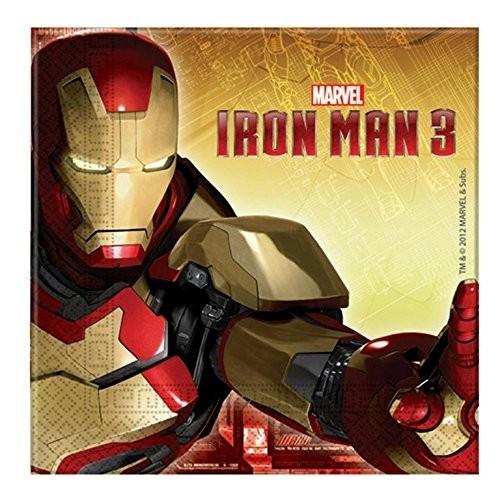 Tovaglioli Iron Man - Marvel