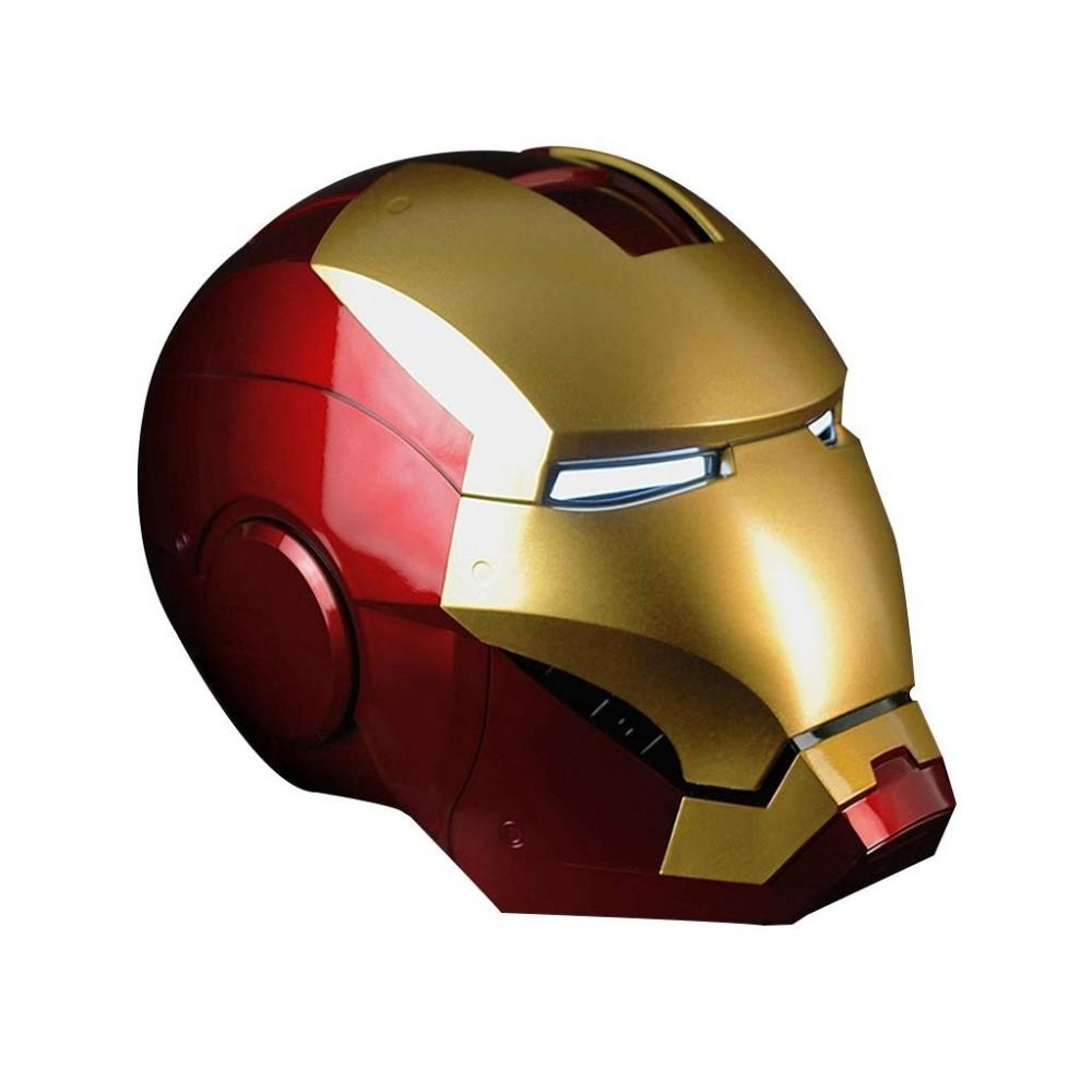 Maschera Iron Man con luci