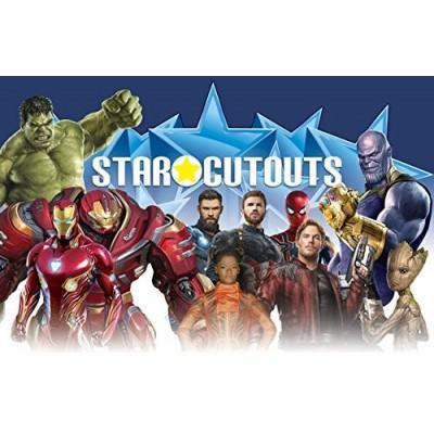 Star Cutouts SC1145grandezza naturale sagoma personaggio Ironman ufficiale Marvel Avengers infinity War nanotech tuta life-s