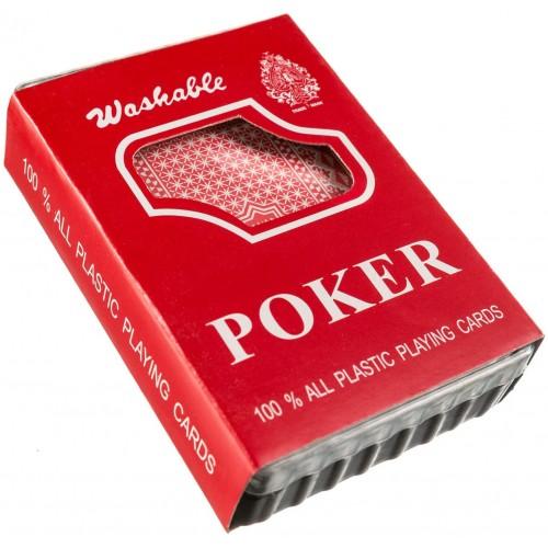 Carte da Poker in plastica, classiche - Reale