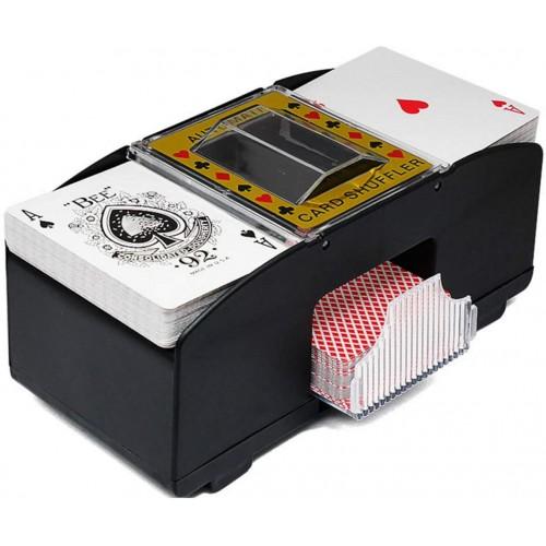 Mescolatore di carte automatico per 2 mazzi, per carte da Poker