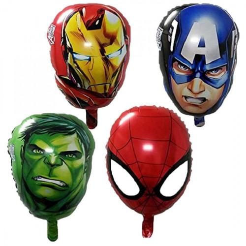 4 palloncini Super eroi Avengers