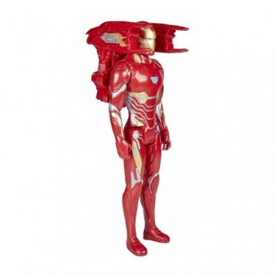 Avengers: Infinity War - Iron Man Titan Hero Power FX  Personaggio 30cm, Action Figure  , E0606103