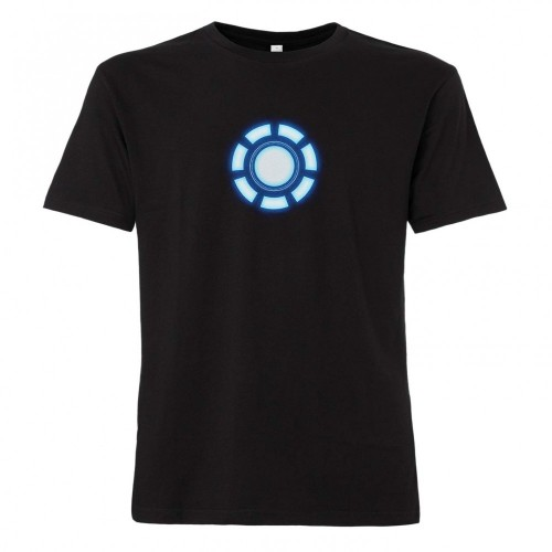 Maglietta Iron Man con Arc Reactor
