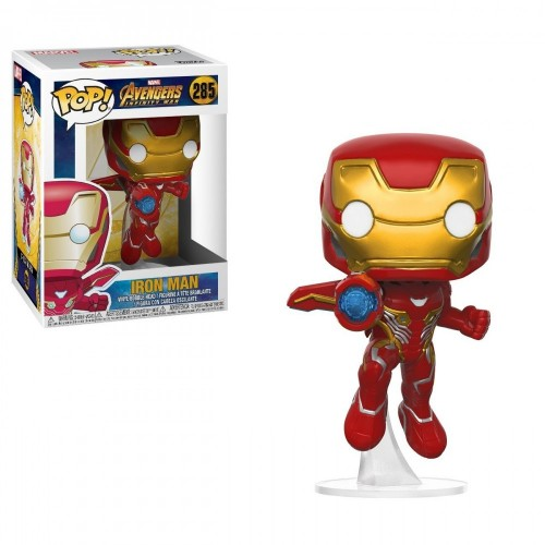 Funko- Bobble Iron Man