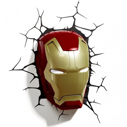 Lampada da parete Iron Man